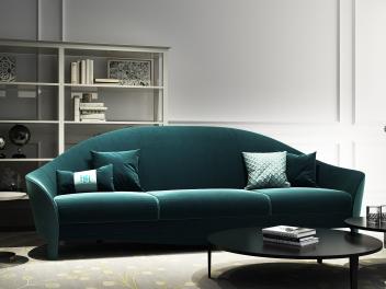 现代时尚沙发组合模型