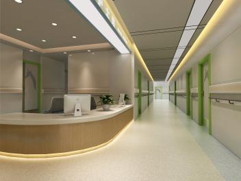 医院过道模型