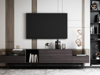 现代电视柜模型