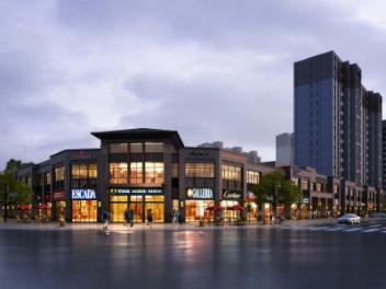 商业街景模型