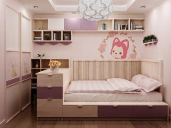 儿童房榻榻米模型