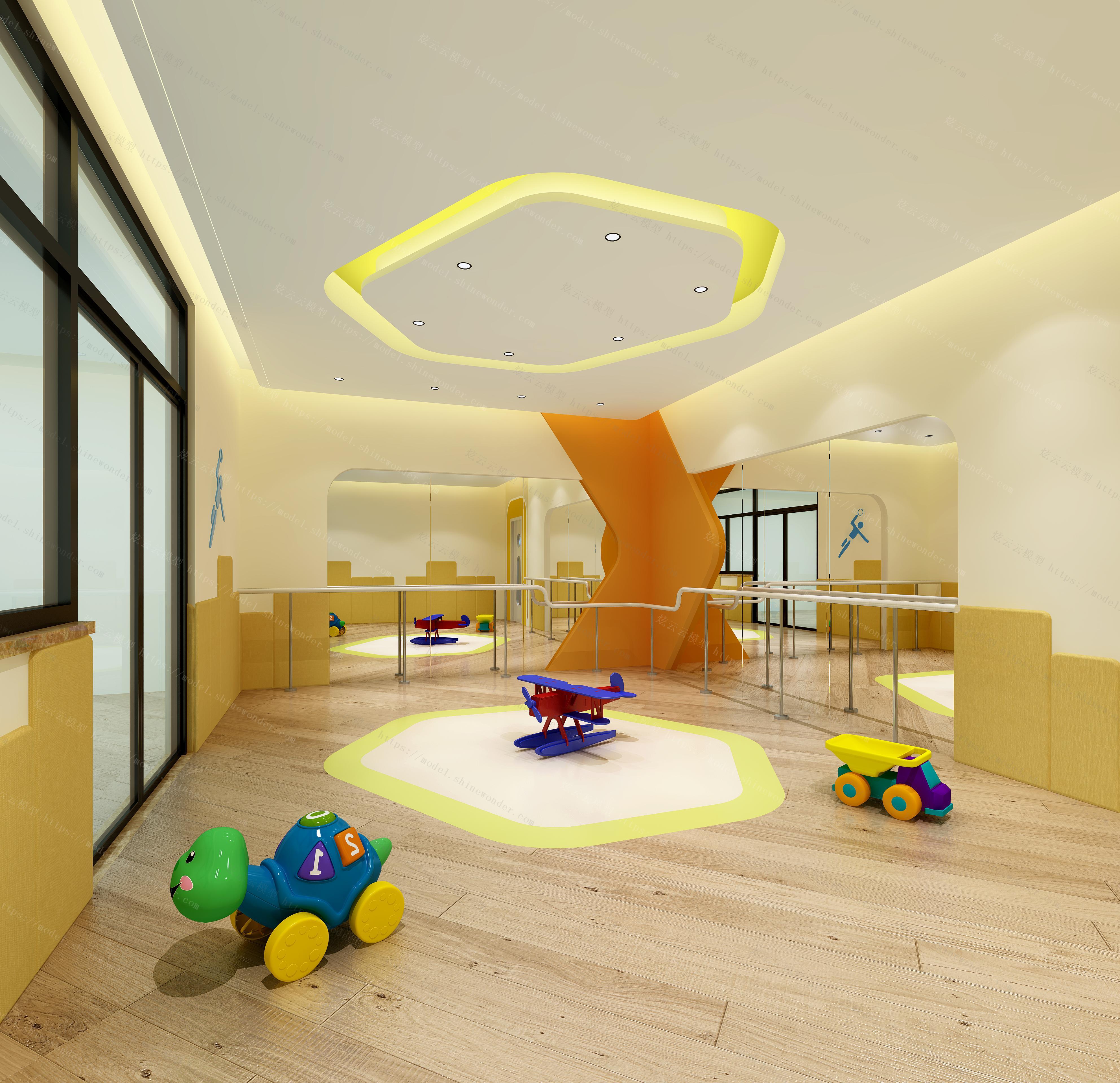 幼儿园模型