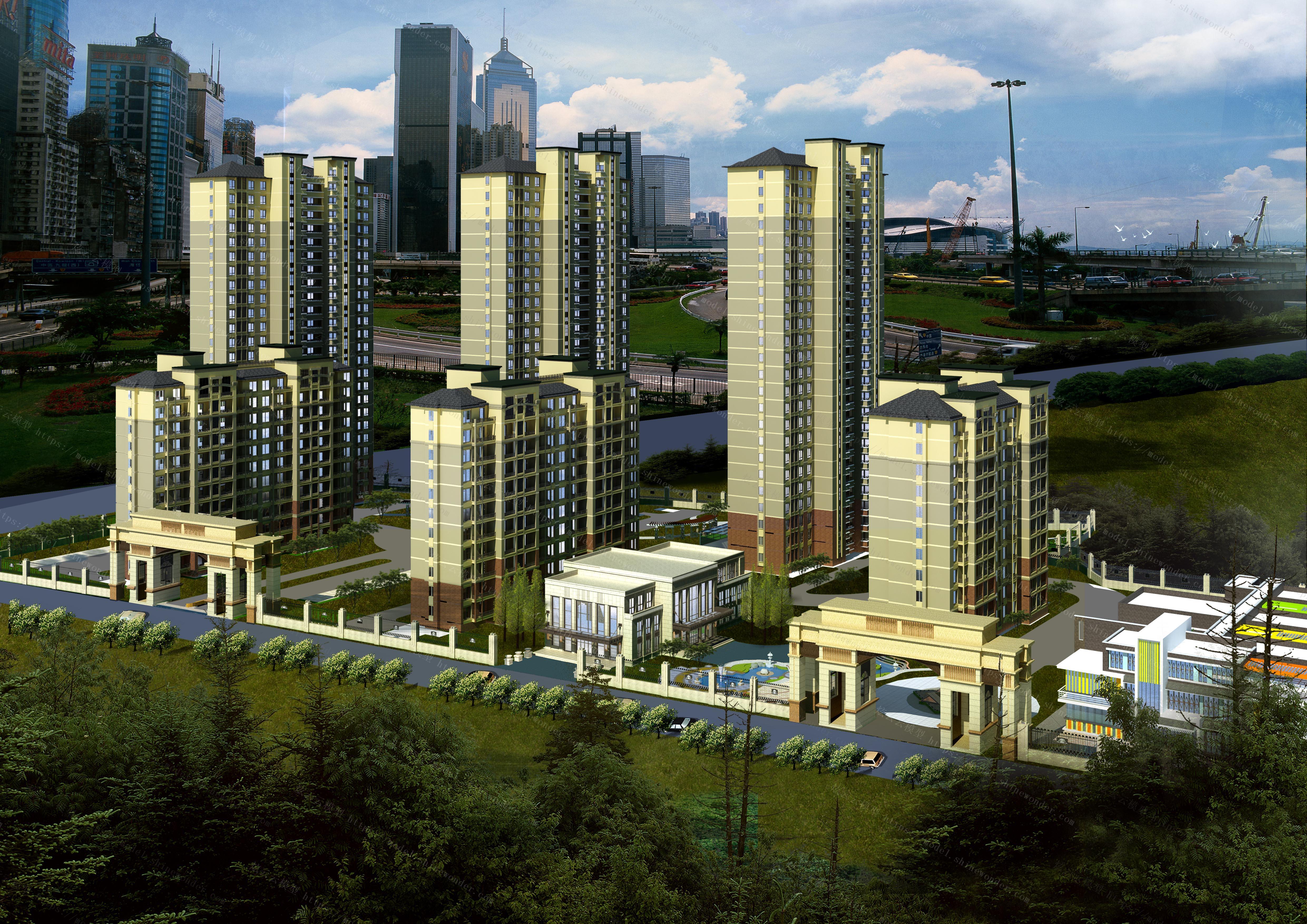 建筑景观模型