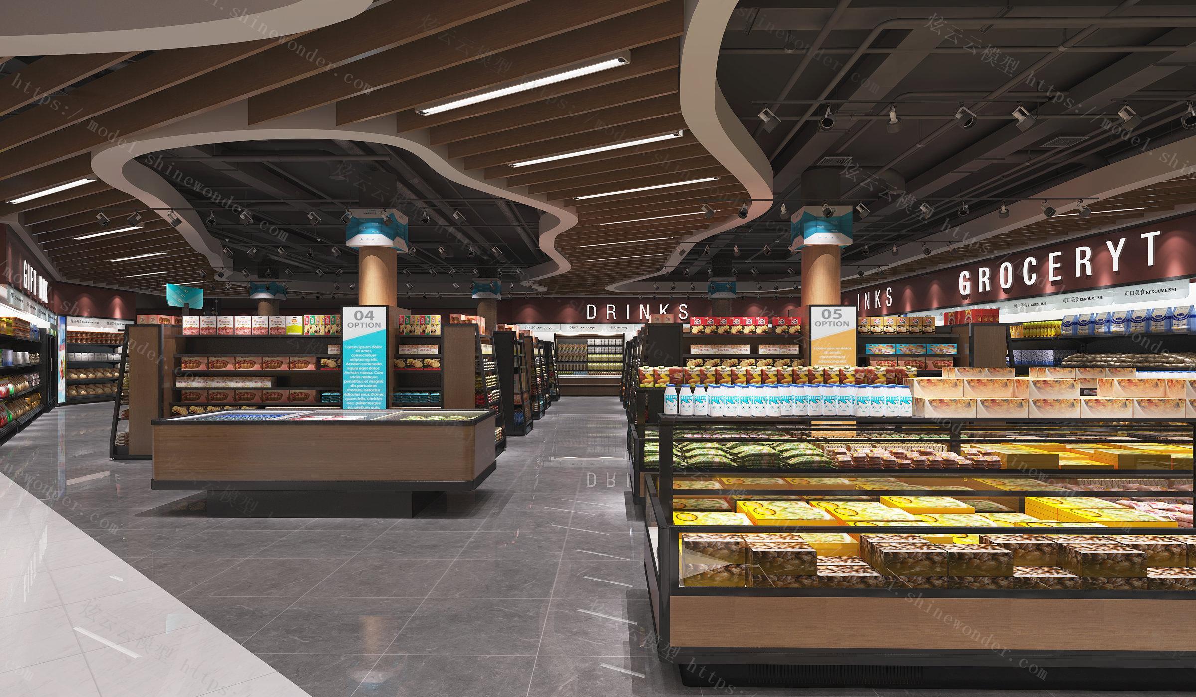 水果超市模型