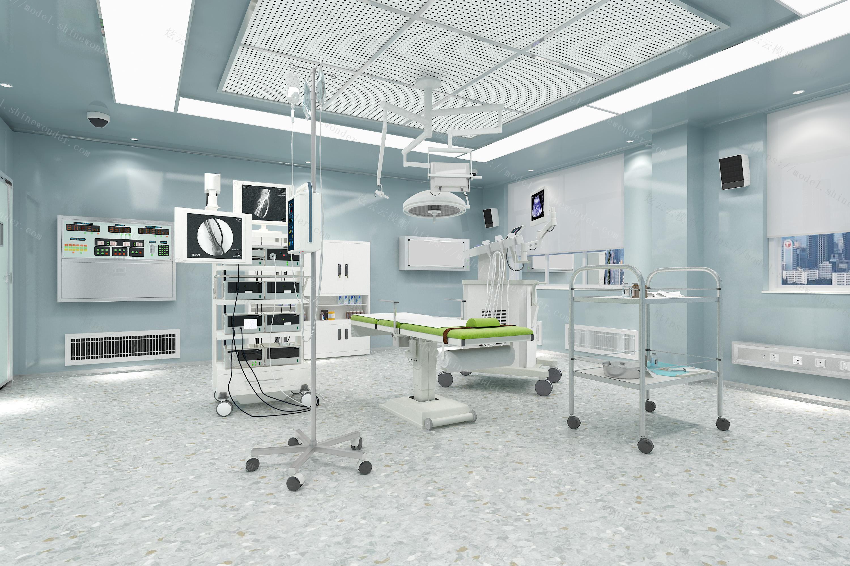 模拟手术室模型