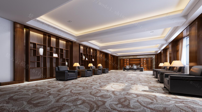 会议接待室模型