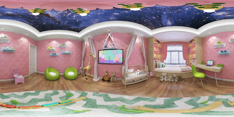 儿童玩具房模型